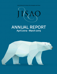 Cover of 2014-2015 Annual Report
