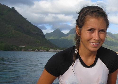 Sara in the tropics