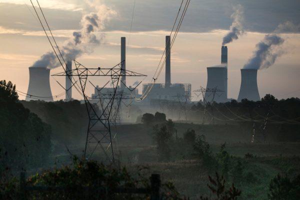 Coal burning plant in Gorgia