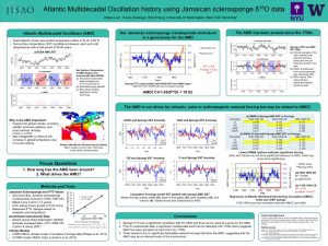 Alissa's research poster