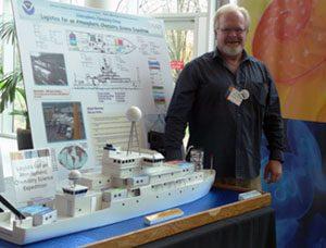 Drew with ship