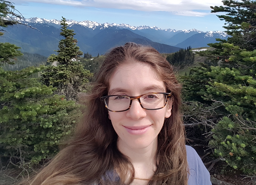 Hannah at Hurricane Ridge