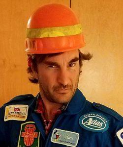 Manolo Castellote helmet headshot