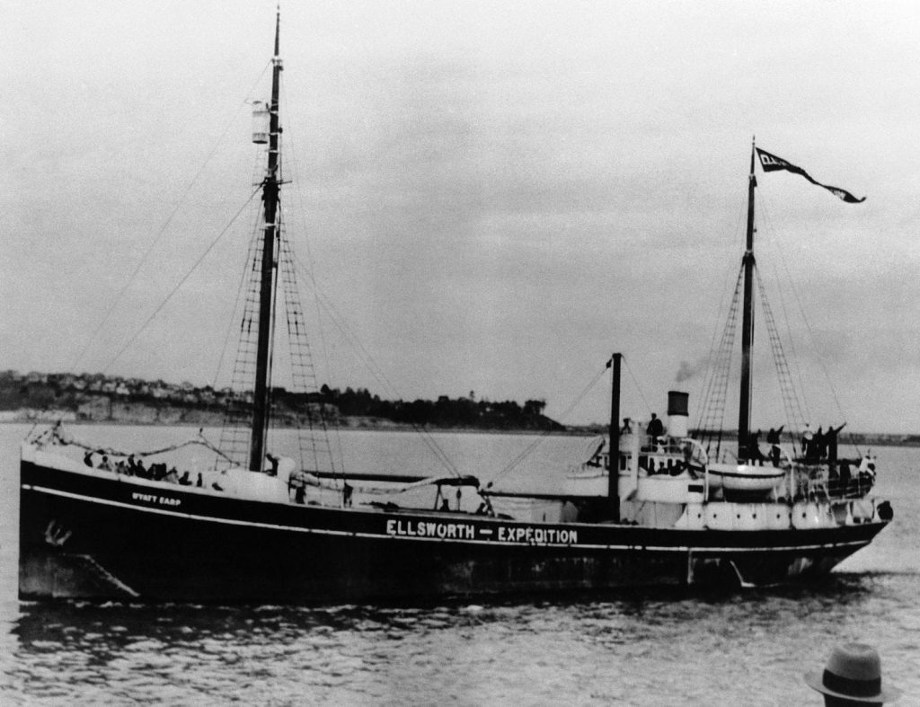 An old whaling ship