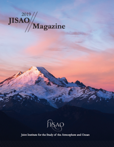 Cover of first JISAO Magazine