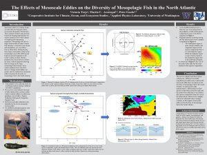Victoria's research poster